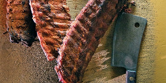 Well hello — wine meets barbecue.