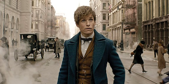 Eddie Redmayne enters the wizarding world of Harry Potter as Newt Scamander, xenozoologist.