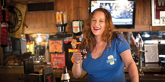 Shelby Harris has worked at Memphis Sports Pub for nine years.