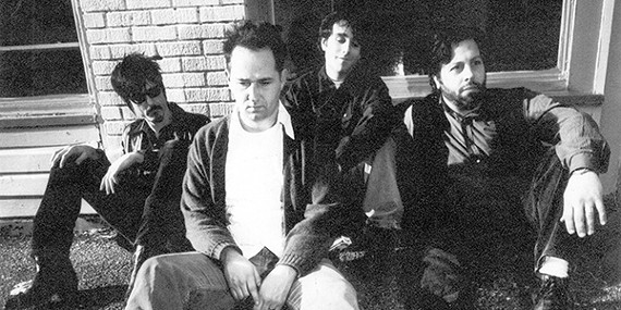 The original lineup of the Reigning Sound