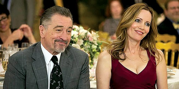Robert De Niro (left) and Leslie Mann star in Taylor Hackford's The Comedian.