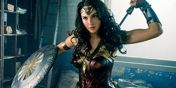 Gal Gadot wields sword and shield — and the golden Lasso of Truth — in Patty Jenkins' triumphant, new Wonder Woman film.