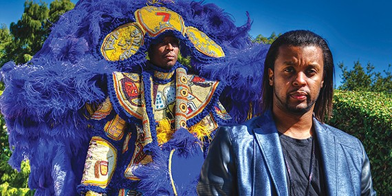 Big Chief Bo Dollis Jr. and the Wild Magnolias