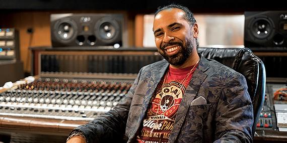 """Lawrence """"Boo"""" Mitchell at Royal Studios"""