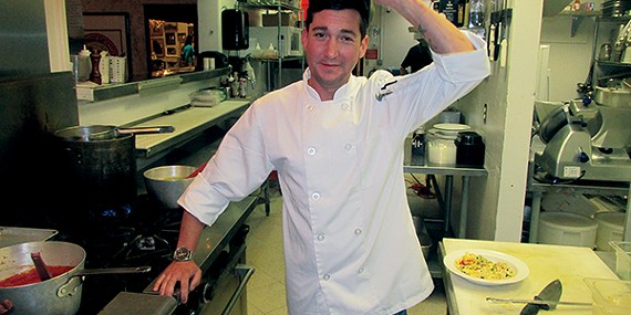 Hats off to the chef — Ryan McCarty talks food and family.