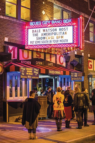 Watson's Ameripolitan Music Awards found a new home in Memphis.