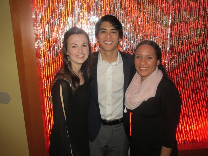 Shannon and Ryan Ito and Cindy Pena at Madonna Learning Center Gala and Auction - MICHAEL DONAHUE