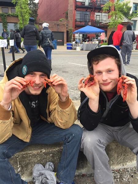 Mud bugs on tap at Rajun Cajun Crawfish Festival - MICHAEL DONAHUE