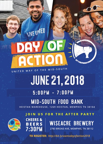 United Way of the Mid-South Day of Action