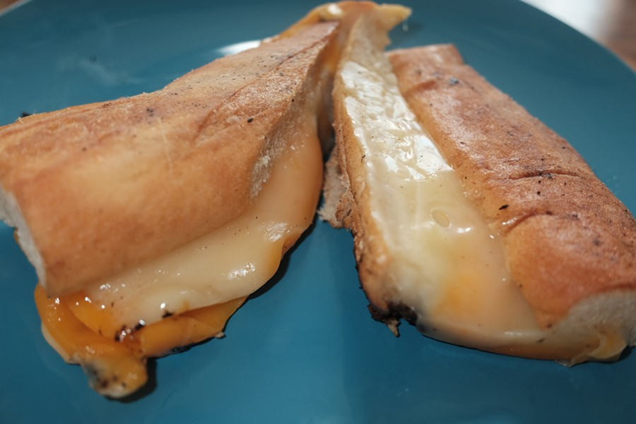 Grilled cheese at Cafe Keough, - MICHAEL DONAHUE