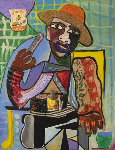 Sonny Boy Williamson - ARTIST: GEORGE HUNT