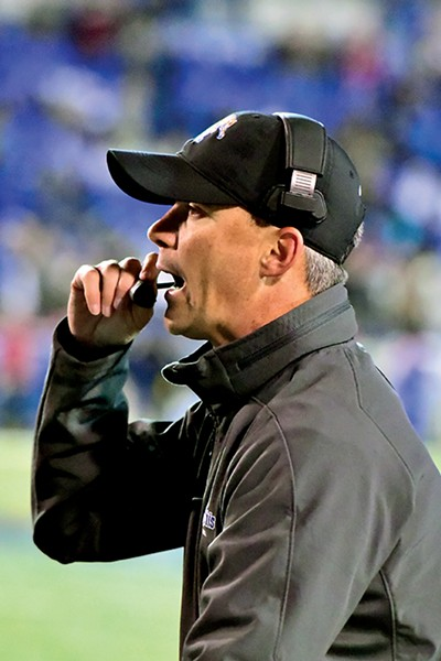 Coach Mike Norvell - LARRY KUZNIEWSKI