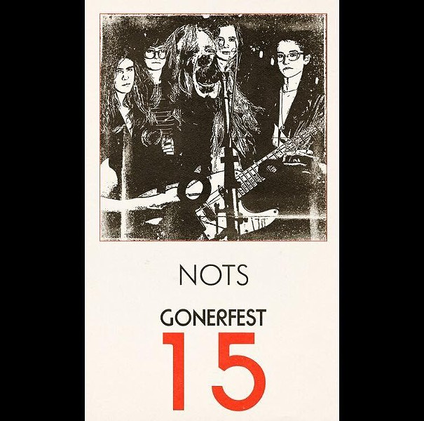 NOTS as portrayed on Gonerfest 15 poster. - GONER