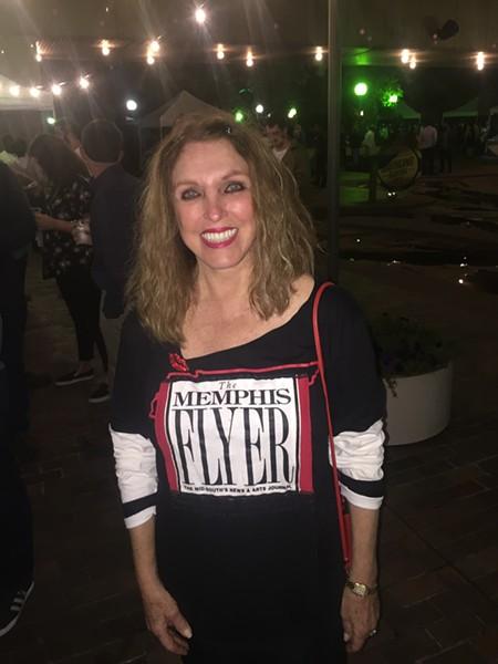 Pat Kerr Tigrett at the Best of Memphis party. - MICHAEL DONAHUE