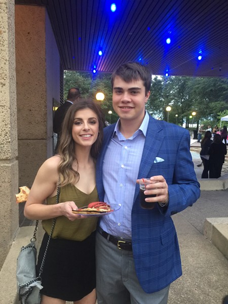 Anna Campbell and Zach Sloyan represented Gibson's Donuts (Best Donut Shop) at the Best of Memphis party. - MICHAEL DONAHUE