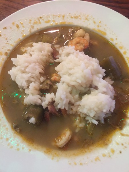 Gumbo at Mortimer's Restaurant - MICHAEL DONAHUE