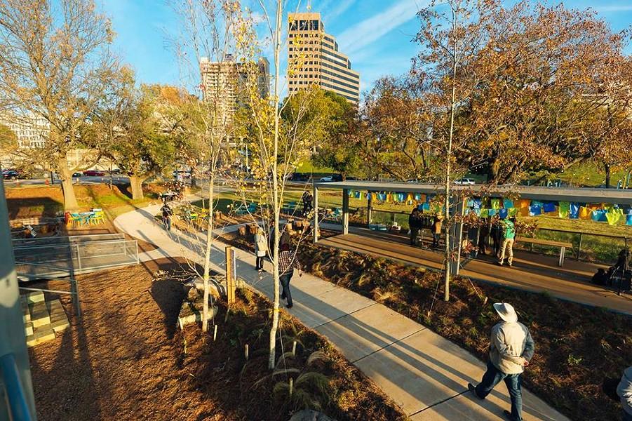 The River Garden at Mississippi River Park - FACEBOOK-  MRPP