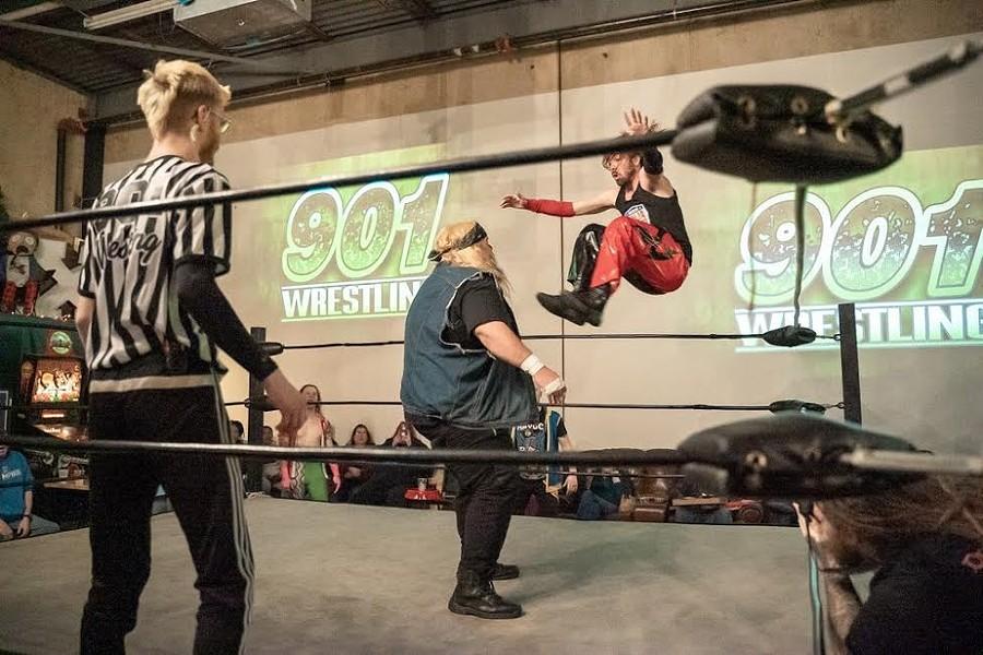 901 Wrestling - MICHAEL BUTLER JR.
