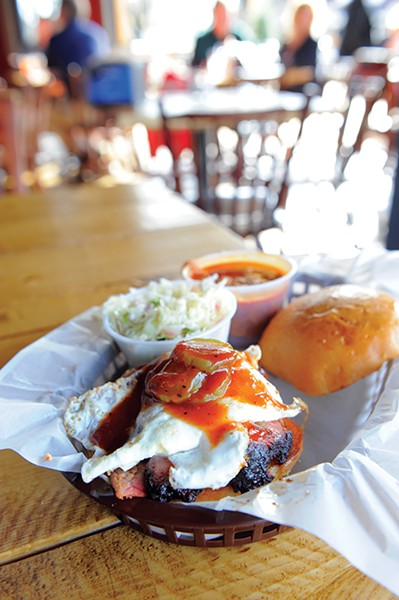 Edley's Bar-B-Que - COURTESY OF THE NASHVILLE SCENE