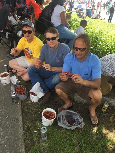 Porter-Leath Rajun Cajun Crawfish Festival - MICHAEL DONAHUE