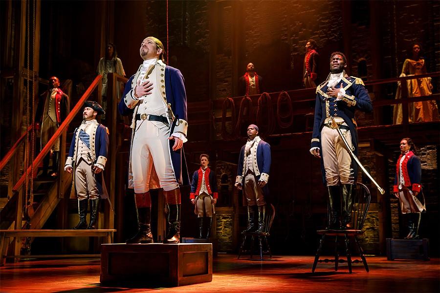 "Scene from ""Hamilton"" - THE ORPHEUM"