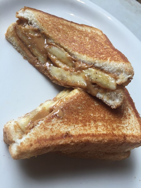 Peanut Butter N' Banana Sandwich at the Arcade Restaurant - MICHAEL DONAHUE