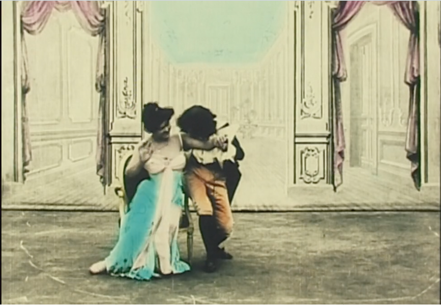 A scene from one of the 1,000 movies made by pioneering director Alice Guy-Blaché.