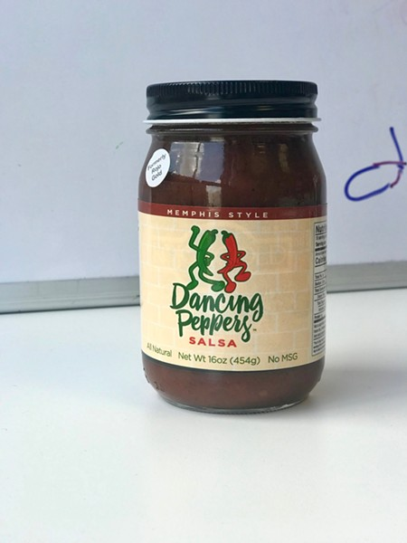 Look for Memphis-made Dancing Peppers salsa (formerly Rojo Gold) at Kroger, Miss Cordelia's, Cash Saver, and more. - TOBY SELLS