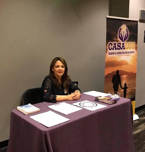 Inés Negrette, executive director of CasaLuz - CASALUZ