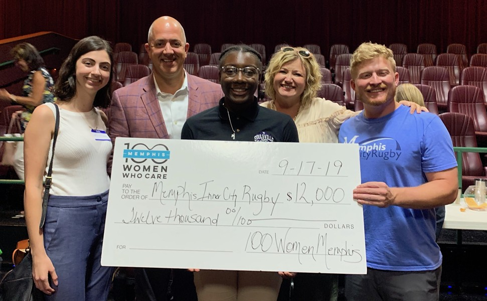 100 Women Who Care chose Memphis Inner City Rugby as its winning non-profit