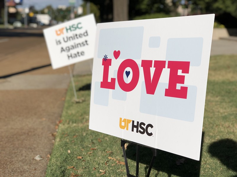 UTHSC stands against hate