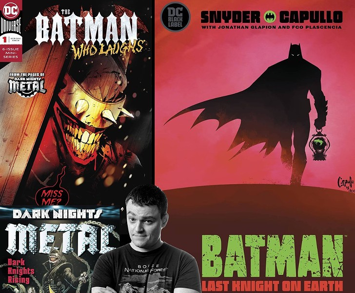 Look for Scott Snyder at the Memphis Comic Expo.