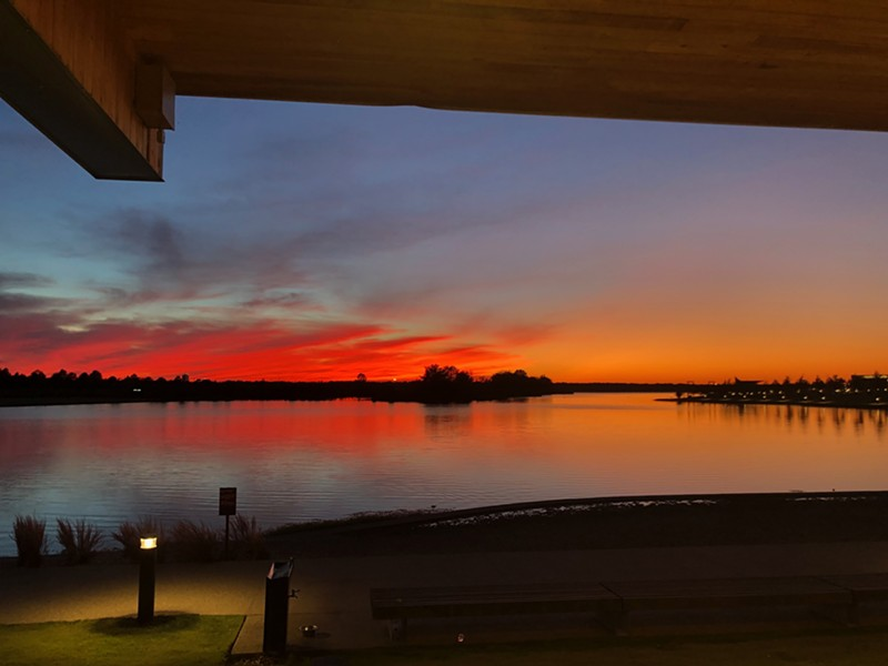 View of Hyde Lake from Coastal Fish Company - LAUREN RESH