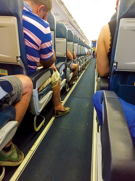 Planes are a pain. - JAMES COPELAND | DREAMSTIME.COM