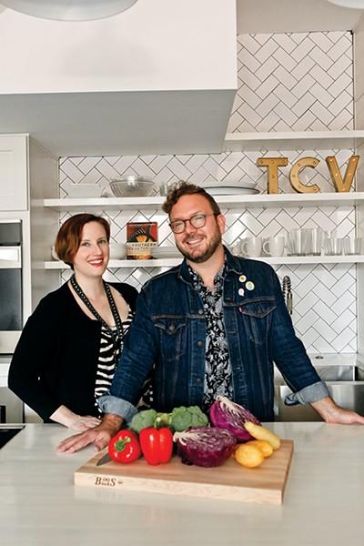 Amy Lawrence and Justin Fox Burks - KIM THOMAS