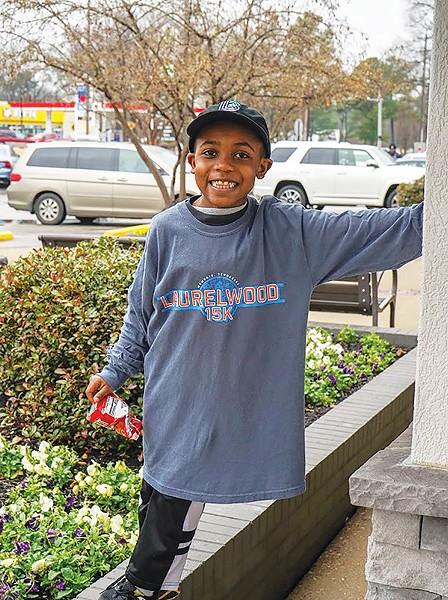Youngest volunteer, Ian - BBBSMS