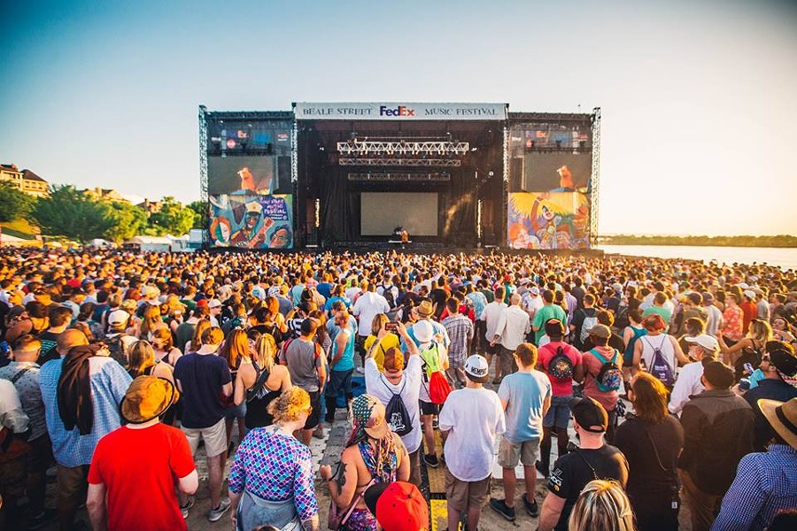 Beale Street Music Festival at Tom Lee Park - MIM- FACEBOOK