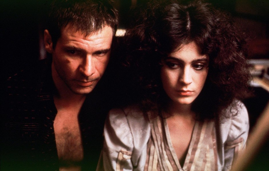 Harrison Ford and Sean Young