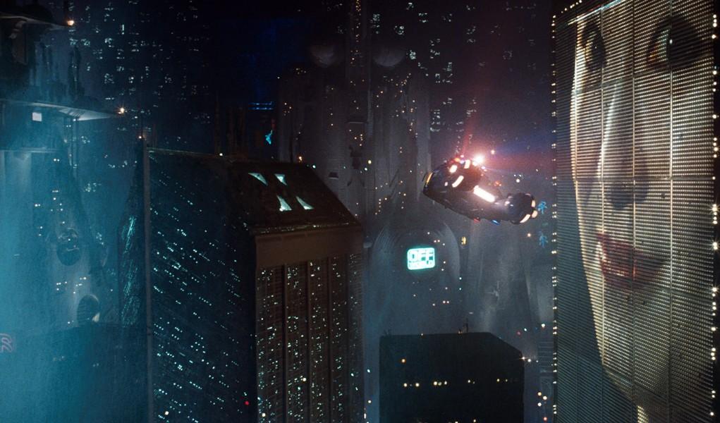 Downtown Los Angeles in Blade Runner (1982)