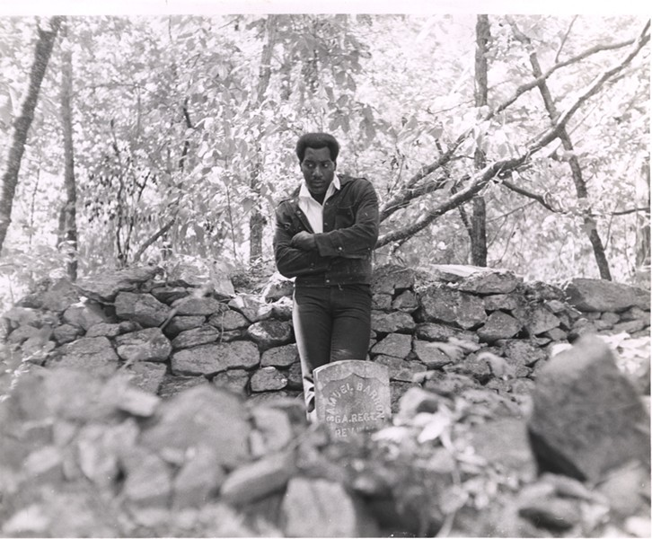 Otis Redding at his ranch near Macon, GA - COURTESY STAX MUSEUM OF AMERICAN SOUL MUSIC