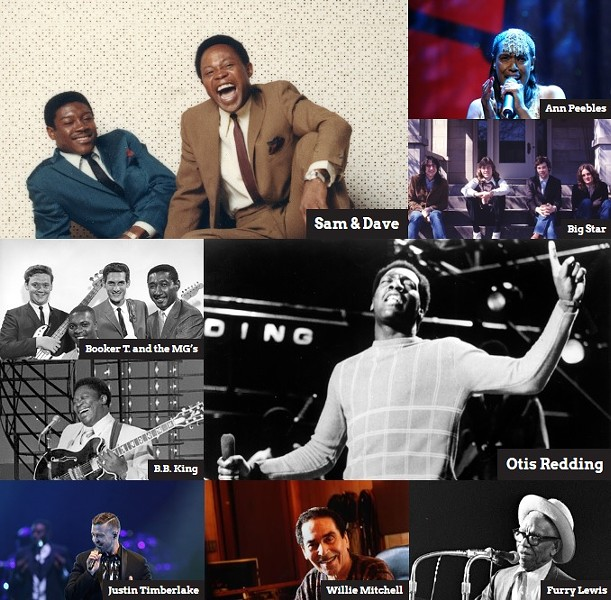Images from the Memphis Music Hall of Fame