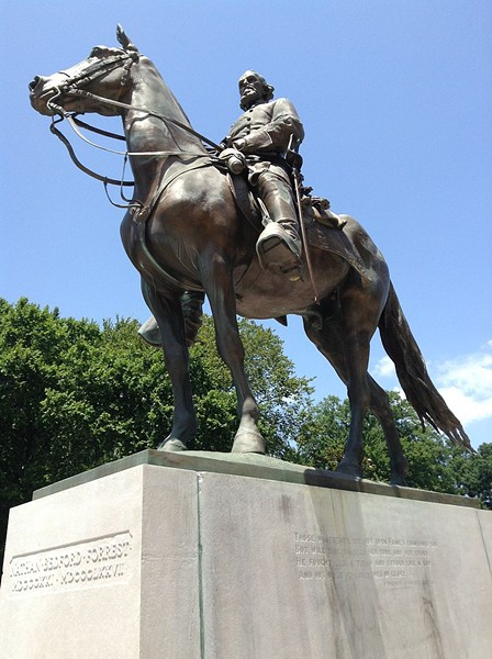 Statue of Nathan Bedford Forrest, formerly in Memphis