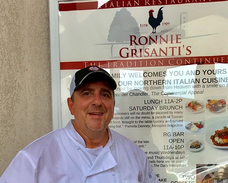 Alex Grisanti now in the kitchen at Ronnie Grisanti's Restaurant