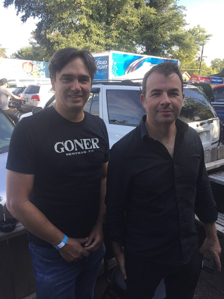 Eric Friedl and Zac Ives of Goner Records - MICHAEL DONAHUE