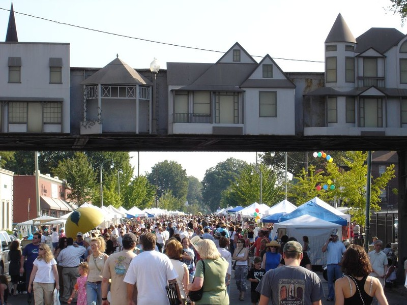 Cooper-Young Festival from not this year. You know why. - COOPER YOUNG HISTORIC DISTRICT/FACEBOOK