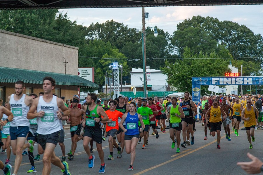 Last year's running of the Cooper-Young Festival Four Miler featured physical athletes running together at the same time. Can you imagine? - COOPER-YOUNG FESTIVAL FOUR MILER/FACEBOOK