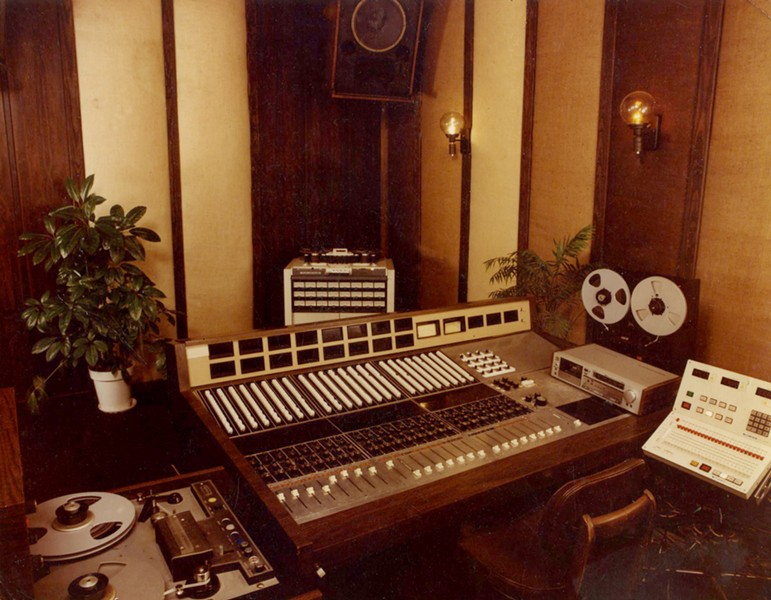 The control room at Shoe Productions - COURTESY ANDY BLACK