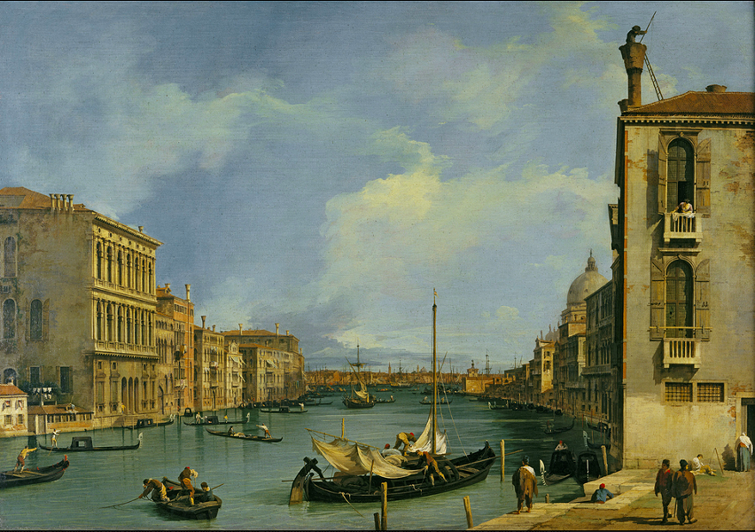 Also the Grand Canal.
