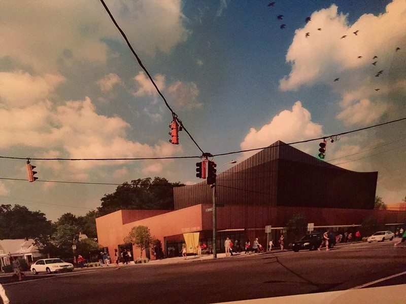 Proposed Ballet Memphis Overton Square facility daytime view - ARCHIMANIA