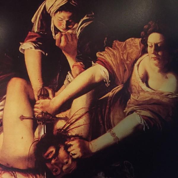 Judith Slaying Holofernes by Artemisia Gentileschi.